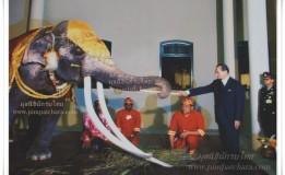 พระยาช้างเผือกประจำรัชกาลที่๙